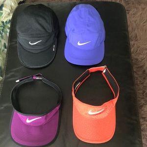Nike caps/visors